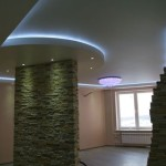 Выбираем потолок с нишей: виды и формы