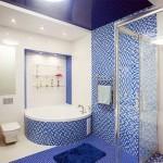 Современные потолки в санузлах: варианты отделки и конструкций