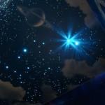 Звезды на потолке — оригинальный вариант декора