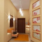 Какие люстры для коридора лучше выбрать: обзор источников света