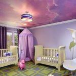 20 идей дизайна потолка в детской для ребенка