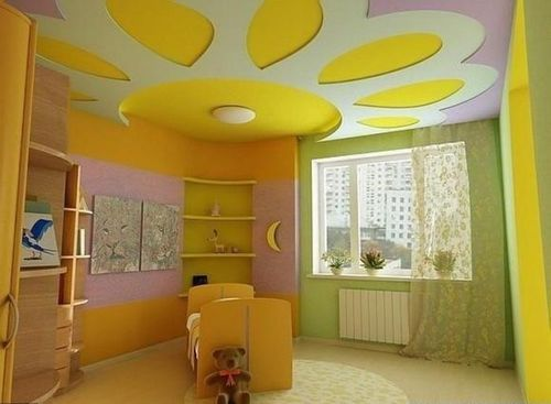 dizajn-potolka-detskoj_4