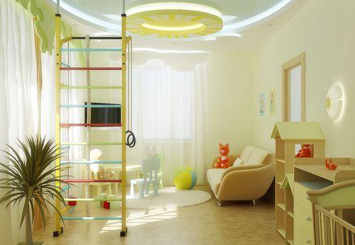 dizajn-potolka-detskoj_6